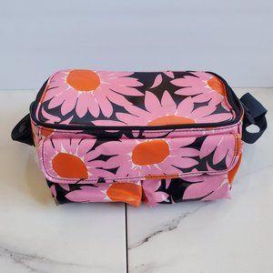 Vera Bradley Plastic Travel Case  Pink Daisy Style